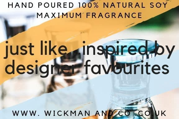Just Like...Inspired By Designer Fragrances Soy Wax Candle